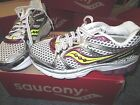 NEW WOMENS SAUCONY PROGRID GUIDE 5 WHT PUR CTN RUNNING SHOES SIZE 5