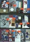 HUGE 2,000 CARD 1 1 PATCH AUTO JERSEY ROOKIE INSERT SPORTS CARD COLLECTION LOT $