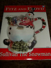 New Fitz and Floyd Sullivan the Snowman Pitcher - In Box - Hand Painted