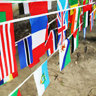 8m 24 European Sports Fans Cheer FOOTBALL BUNTING Flags DIY Championships Party