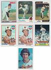 (9) Jim Palmer Auto Lot - 1970 1973 1974 1978 1979 Topps - MSA Disc - Signed