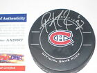PATRICK ROY Signed Montreal CANADIENS Official GAME Puck w PSA COA