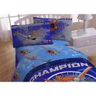 nEw 4pc DISNEY PLANES FULL SHEET SET Dusty Crophopper Racing Airplane Bedding