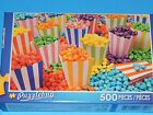 New 500pc Jigsaw Puzzle Puzzlebug Gift Hobby Indoor Activity Colorful Popcorn