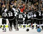 Los Angeles Kings 2014 Stanley Cup Team Celebration Photo #2 (Size: 8