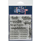 Your Next Stamp Clear Stamps 4X4 Whatnot Sentiment 4