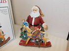 FITZ AND FLOYD HOLIDAY MUSICALS*OLD FASHIONED CHRISTMAS MUSIC BOX TOYLAND*NIB