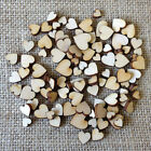 100pcs Lot Rustic Wood Wooden Love Heart Wedding Table Scatter Decor Crafts DIY
