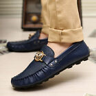 New Fashion Mens Flats Driving Moccasin Loafer Casual Classic Slip On Shoes