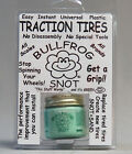 BULLFROG SNOT EASY INSTANT UNIVERSAL PLASTIC TRACTION TIRES all scales BFS-1 NEW
