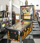 CYCLONE PINBALL MACHINE ~ HIGHLY SOUGHT WILLIAMS GAME ~  LED UPGRADED + DISPLAY