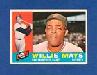 Topps 1960 #200 – Willie Mays!! Book Value = $120!! HOF STAR BLOWOUT!! $1!!