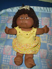 2007 Cabbage patch Kids Doll. dark skin   25th Anniversary .