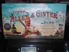 2016 TOPPS ALLEN & GINTER FACTORY SEALED HOBBY BOX 3 HITS PER BOX