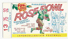 1977 Michigan Southern Cal Rose Bowl football ticket stub Leach Schembechler