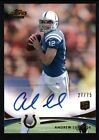 ANDREW LUCK 2012 TOPPS PRIME RC ROOKIE GOLD AUTOGRAPH COLTS AUTO SP MINT #27 75