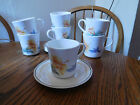 7 Sets of Vintage Corelle Hummingbird Cups & Saucers ~VERY NICE~ FREE SHIPPING~