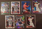 7 WILL MIDDLEBROOKS ROOKIE CARD LOT #d Refractors Limited Chrome Boston Red Sox