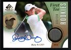 RORY MCILROY 2014 SP GAME USED RC ROOKIE AUTOGRAPH GOLF SHIRT JERSEY AUTO # 199