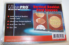 1 Pack of 100 Ultra Pro Booklet Card Sleeves - Vertical