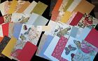 Anna Griffin Seasonal Summer Fall Card Layers 24 5x7 and 24 4x6