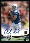 ANDREW LUCK 2012 TOPPS PRIME RC ROOKIE GOLD AUTOGRAPH COLTS AUTO SP #27 75 $300