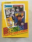 Box OF Donruss Baseball And Puzzle Cards = 540 cards, 36 Packs