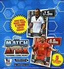 (4)2013 2014 Topps Match Attax Premier League Soccer BOX-200 Factory Sealed Pack