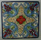 TABLETOPS UNLIMITED china TOLUCA pattern Square Salad Plate @ 8