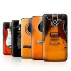 Stuff4 Hülle/Case/Backcover für Alcatel Pop D3/Gitarre