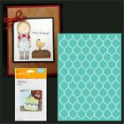 Cuttlebug Embossing folders Chicken Wire embossing folder 2002781 5x7 New