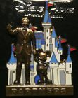 DISNEY WALT MICKEY IN FRONT OF CASTLE PARTNERS PIN NEW ON ORIGINAL CARD