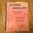 Terex TH1048C TH1056C OPERATOR MANUAL TELESCOPIC HANDLER ROUGH TERRAIN FORKLIFT