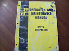 Maintenance Manual for C727A Compactor