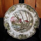 THE FRIENDLY VILLAGE BY JOHNSON BROTHERS WILLOW BY THE BROOK SALAD PLATE