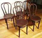 Set 5 Mazovia Poland Bentwood Bistro Bar Ice Cream Parlor Thonet c1902 Chairs