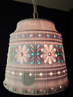 VINTAGE LAWNWARE RV LARGE HANGING SWAG PLASTIC LIGHT RETRO PATIO CAMPING DECK