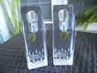 WATERFORD CRYSTAL SET OF 2 LISMORE ESSENCE CANDLESTICKS