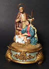 Teleflora Christmas Music Box Oh Little Town Of Bethlahem Religious Nativity