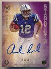 ANDREW LUCK 2012 TOPPS VALOR RC ROOKIE STRENGTH ON CARD AUTOGRAPH SP AUTO #16 50