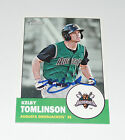 KELBY TOMLINSON SIGNED AUTO'D 2012 TOPPS HERITAGE MINORS CARD #184 SF GIANTS RC
