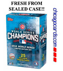 2016 Chicago Cubs Topps World Series Champions Limited Edition Box Set Bryant +