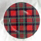 """Fitz and Floyd Country Plaid Pattern 12.25"""" Platter Service Plate Charger Dish"""