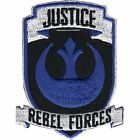 Star Wars Official Justice Rebel Forces Logo Lucasfilm Embroidered Iron On Patch
