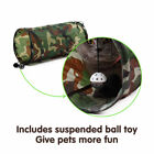 Pet Cat Kitten Tunnel Toys Tunnel Crinkle Small Cat Tube Portable Toys 50x25cm