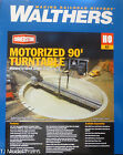 Walthers HO 933 2860 Motorized 90 Turntable Assembled 13 3 4 349cm NEW