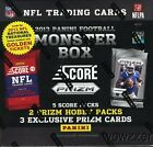 (5)2013 Panini Football Factory Sealed Monster Box-Prizm+Score+EXCLUSIVE INSERTS
