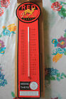 Camel thermometer Kamel Red cigarette sign advertising smoking NEW Man Cave