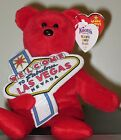 Ty Beanie Baby ~ ACES the Bear ~W/ Knotts Berry Farms Exclusive ~ MWMT'S