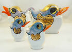 Pepper - Ducks - Birds - Hand Painted - JAPAN - cc